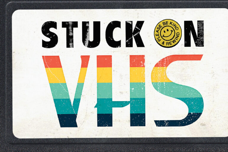 Stuck on VHS Book